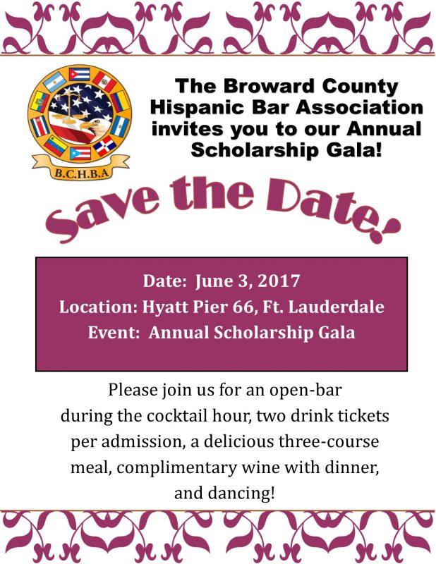 Events Broward County Hispanic Bar Association