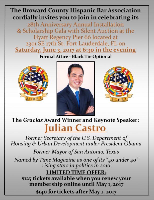 BCHBA's Annual Installation and Scholarship Gala @ Hyatt Pier 66