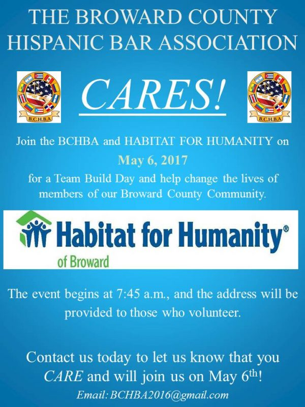 BCHBA CARES! - Team Build Day with Habitat for Humanity