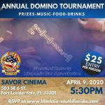 Annual Domino Tournament @ Savor Cinema